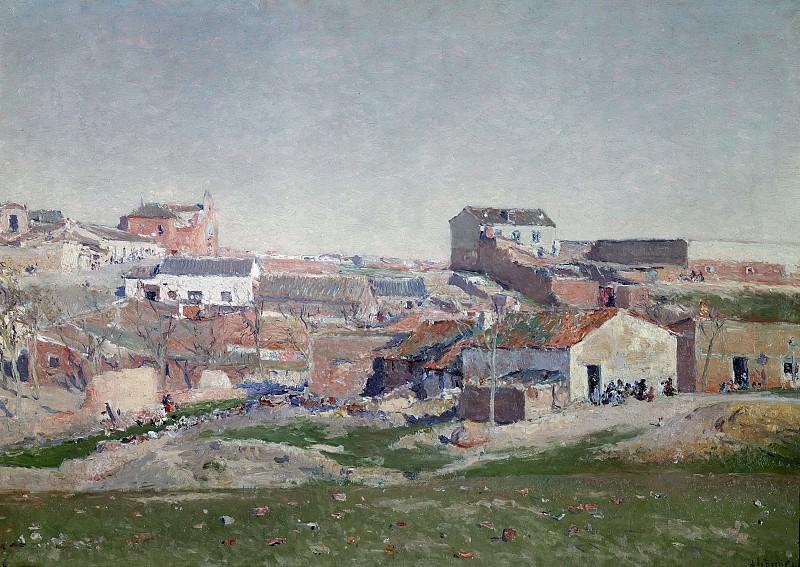 Beruete y Moret, Aureliano de -- Barrio de Bellas Vistas. Part 2 Prado Museum