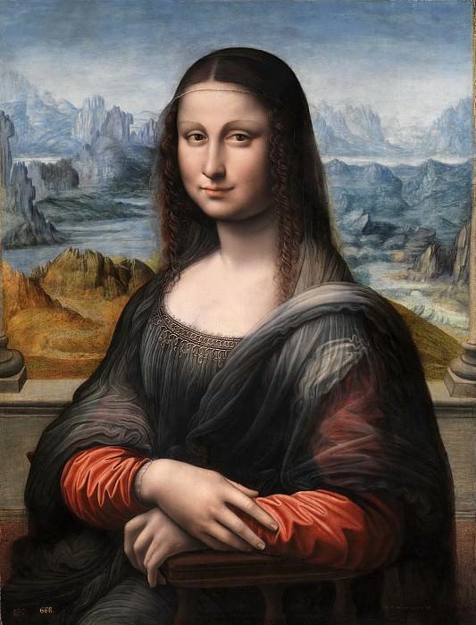 Anónimo (Taller de Leonardo da Vinci) -- La Gioconda o Mona Lisa. Part 2 Prado Museum