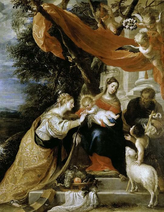 Cerezo, Mateo -- Desposorios místicos de Santa Catalina. Part 2 Prado Museum