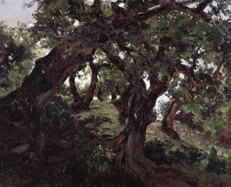 Хаэс, Карлос де -- Дубовая роща. Часть 2 Музей Прадо
