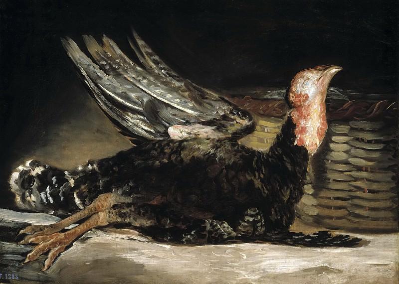 Гойя и Лусиентес, Франсиско де -- Мертвая индейка. Часть 2 Музей Прадо