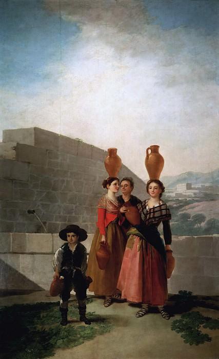 Goya y Lucientes, Francisco de -- Las mozas del cántaro. Part 2 Prado Museum