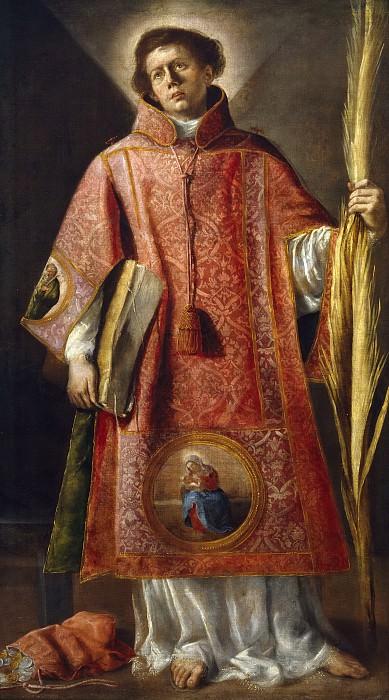 Fernández, Luis -- San Lorenzo. Part 2 Prado Museum
