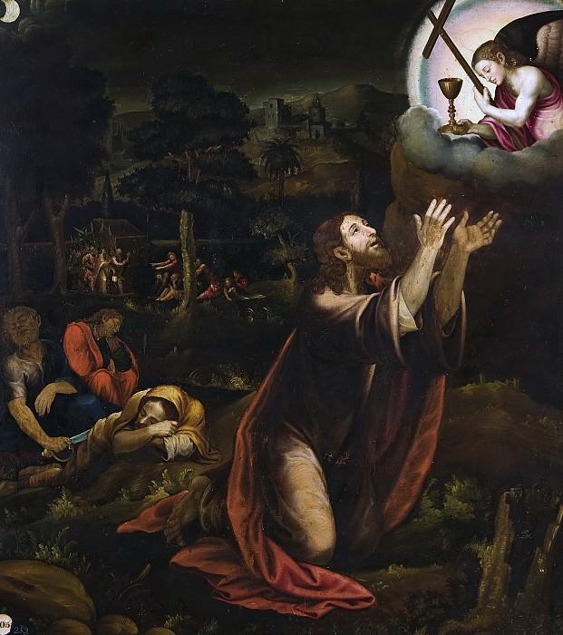Macip, Vicente Joanes -- La Oración en el Huerto. Part 2 Prado Museum