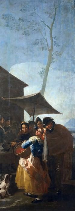 Goya y Lucientes, Francisco de -- La acerolera. Part 2 Prado Museum