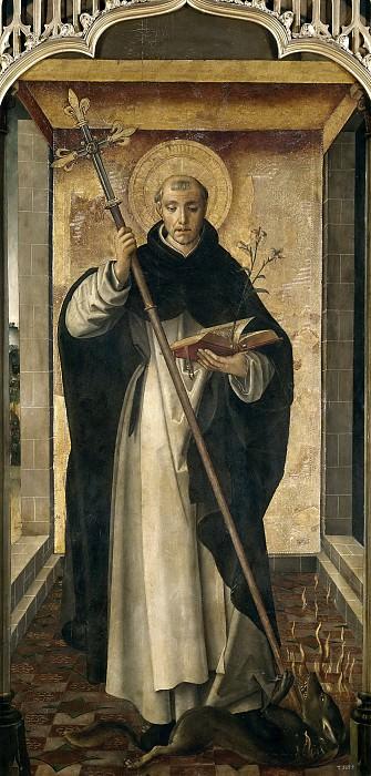 Berruguete, Pedro -- Santo Domingo de Guzmán. Part 2 Prado Museum