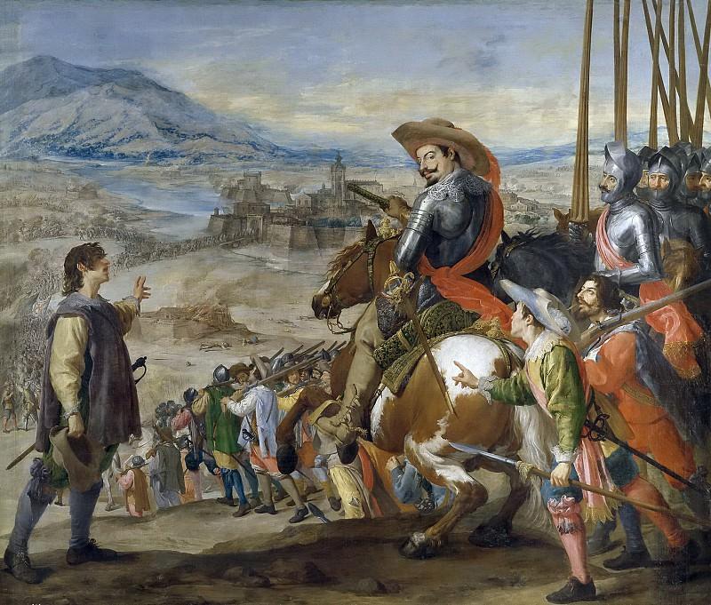 Leonardo, Jusepe -- Socorro de Brisach. Part 2 Prado Museum