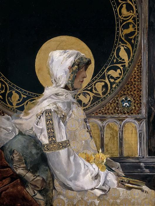 Sorolla y Bastida, Joaquín -- Santa en oración. Part 2 Prado Museum
