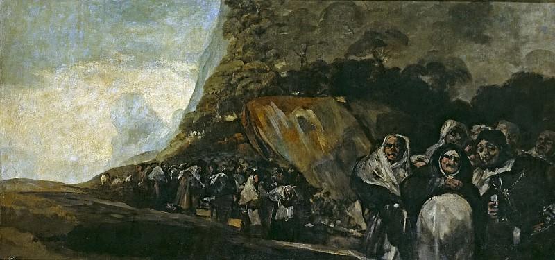 Гойя и Лусиентес, Франсиско де -- Паломничество к фонтану св Исидора, или Святая Инквизиция. Часть 2 Музей Прадо