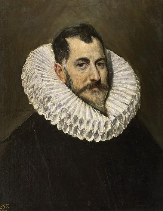 El Greco -- Retrato de un caballero desconocido. Part 2 Prado Museum