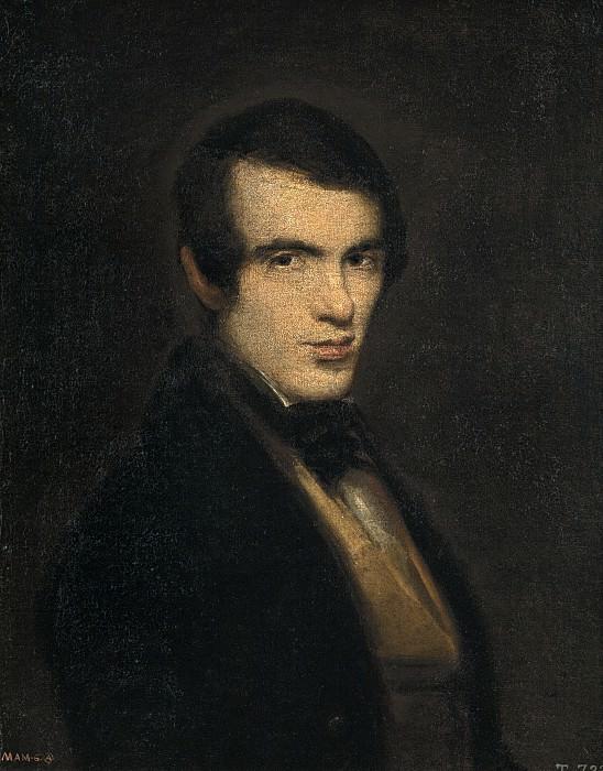 Alenza y Nieto, Leonardo -- Retrato de caballero. Part 2 Prado Museum