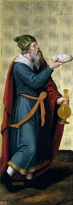 Хуанес, Хуан де -- Мелхиседек, царь Салимский. Часть 2 Музей Прадо