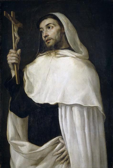 Переда и Сальгадо, Антонио де -- Святой Альберт Сицилийский. Часть 2 Музей Прадо