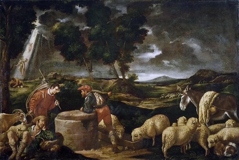 Педро де Орренте (мастерская) -- Иаков у колодца. Часть 2 Музей Прадо