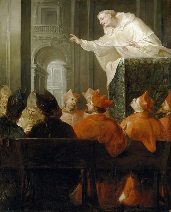 Anónimo -- Un religioso mercedario predicando. Part 2 Prado Museum
