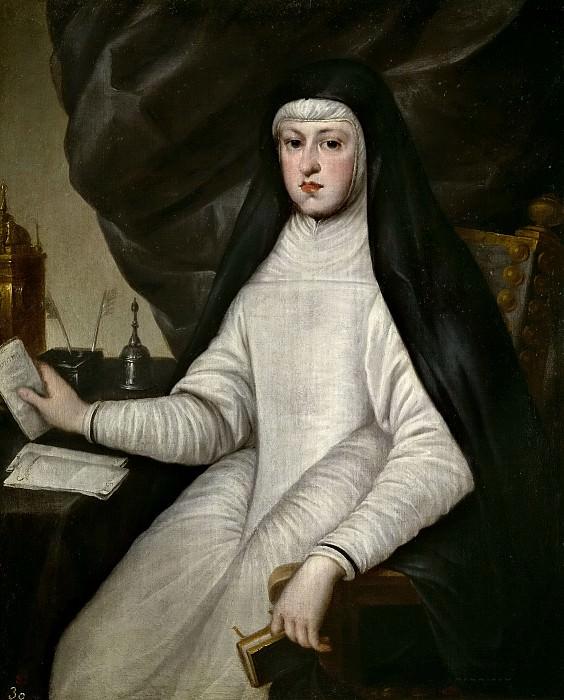 Anónimo -- Mariana de Austria, reina de España. Part 2 Prado Museum