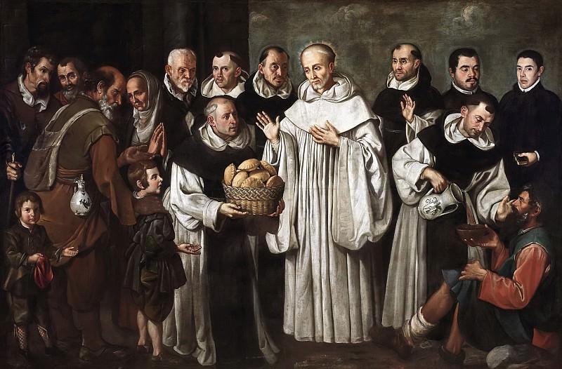 Loarte, Alejandro de -- Milagro de San Bernardo. Part 2 Prado Museum