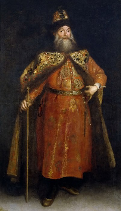 Carreño de Miranda, Juan -- Pedro Ivanowitz Potemkin, embajador de Rusia. Part 2 Prado Museum