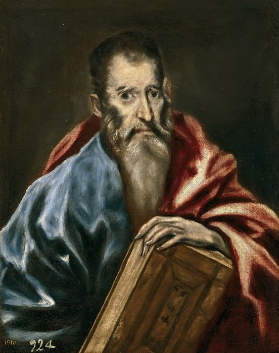 Anónimo (Taller de El Greco) -- Un apóstol. Part 2 Prado Museum
