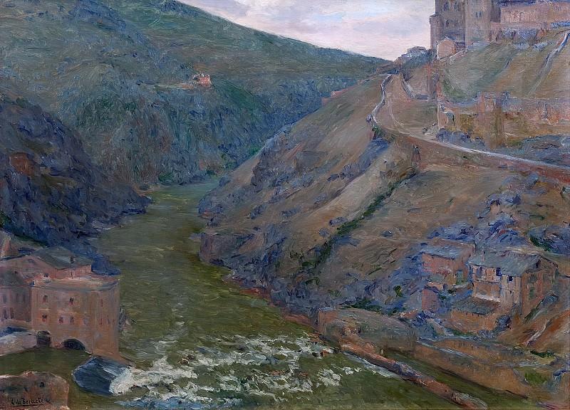 Beruete y Moret, Aureliano de -- El Tajo, Toledo. Part 2 Prado Museum