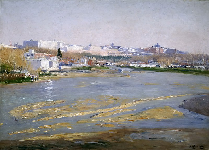 Беруэте и Морет, Аурелиано де -- Река Мансанарес. Часть 2 Музей Прадо