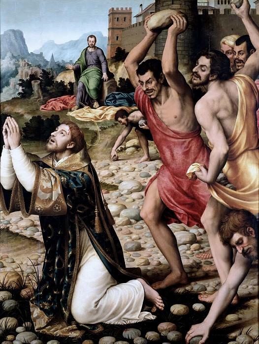 Juanes, Juan de -- Martirio de San Esteban. Part 2 Prado Museum