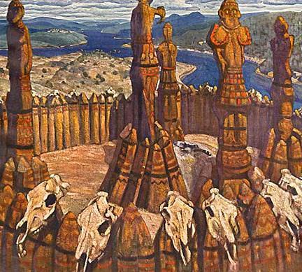 Idols. Pagan Rus. Roerich N.K. (Part 1)