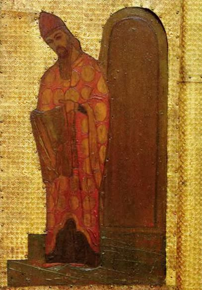 Perm iconostasis. Marian feast days. Presentation of the Virgin in the Temple. Priest Zacharias. Roerich N.K. (Part 1)