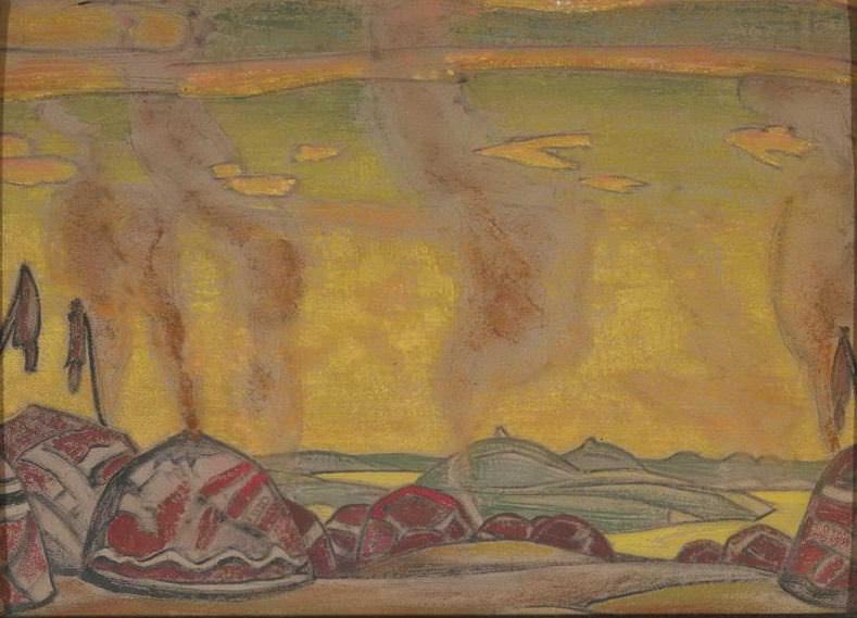 Polovetsky mill. Roerich N.K. (Part 1)