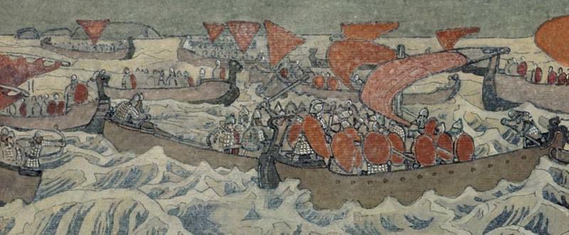 Warships. Roerich N.K. (Part 1)