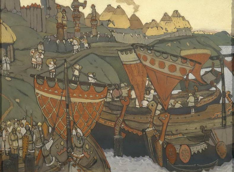 Slavs on the Dnieper. Roerich N.K. (Part 1)