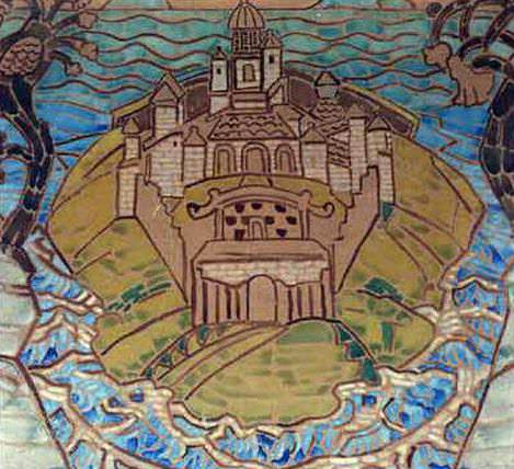 Township (motif carpet). Roerich N.K. (Part 1)