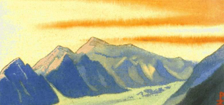 The Himalayas (93). Roerich N.K. (Part 1)