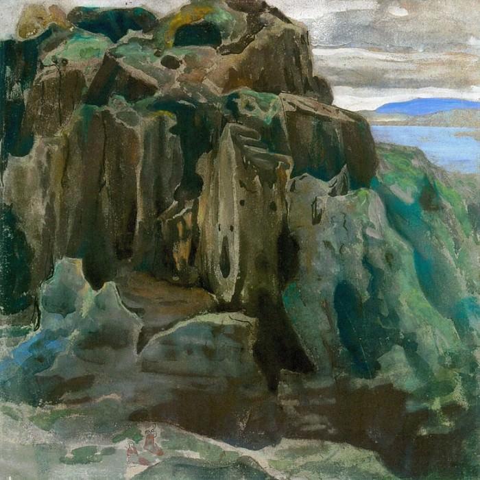 The Last castle (sketch stump). Roerich N.K. (Part 1)