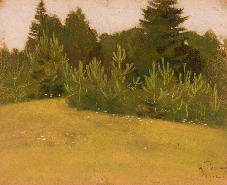 Pines. Okulovka. Roerich N.K. (Part 1)
