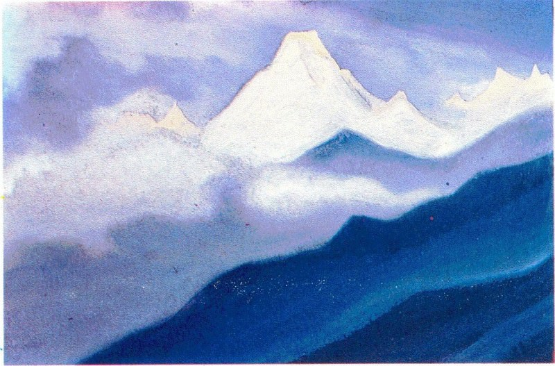 The Himalayas (Etude) (25). Roerich N.K. (Part 1)