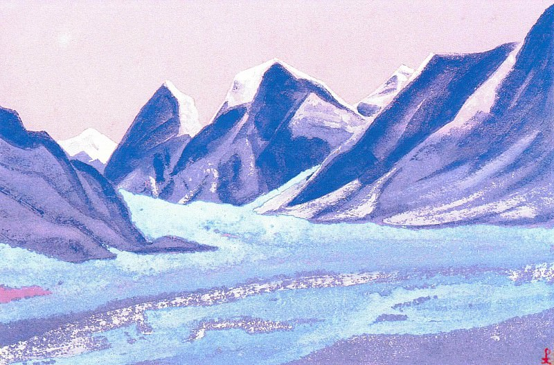 The Himalayas (Etude) (15). Roerich N.K. (Part 1)