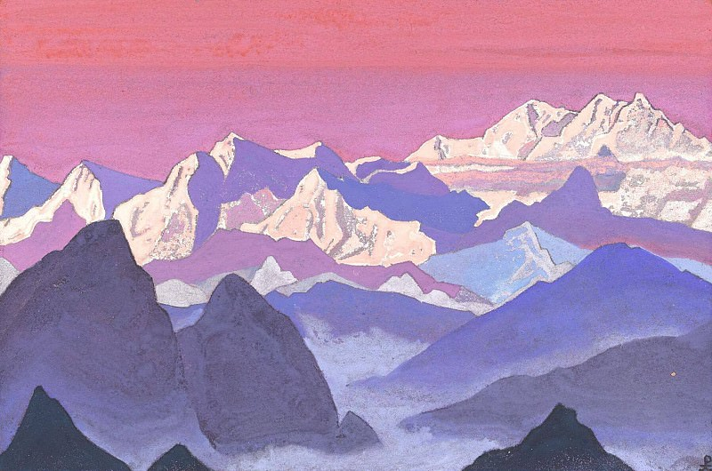 Kanchenjunga (Himalayas. Kanchenjunga). Roerich N.K. (Part 1)