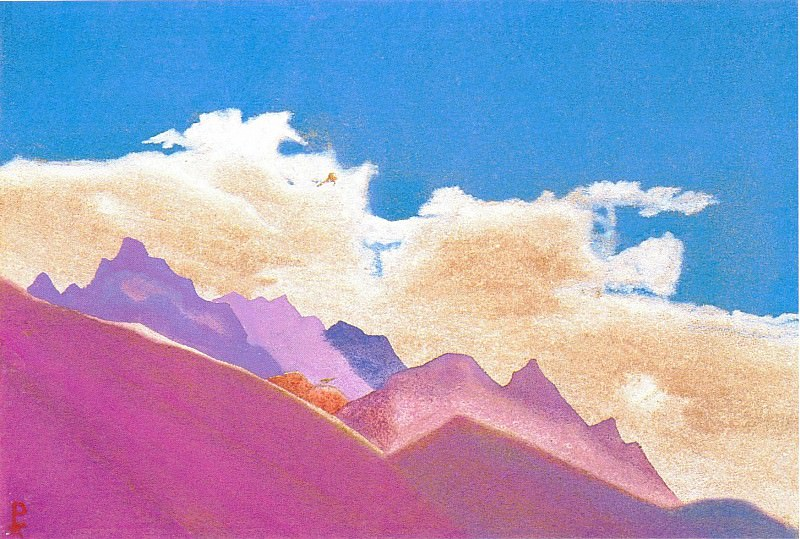 The Himalayas (Etude) (09). Roerich N.K. (Part 1)