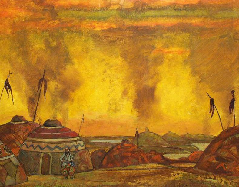 Polovetsky mill. 2nd action. Roerich N.K. (Part 1)