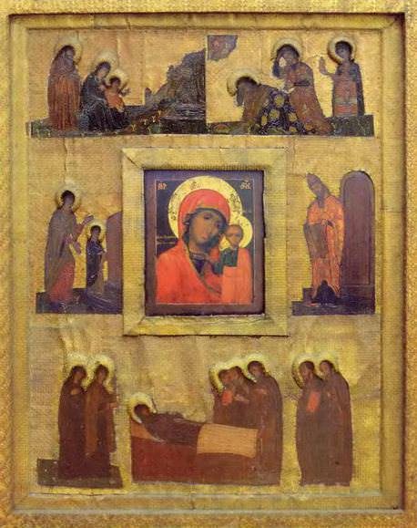 Perm iconostasis. Marian feast days. Roerich N.K. (Part 1)