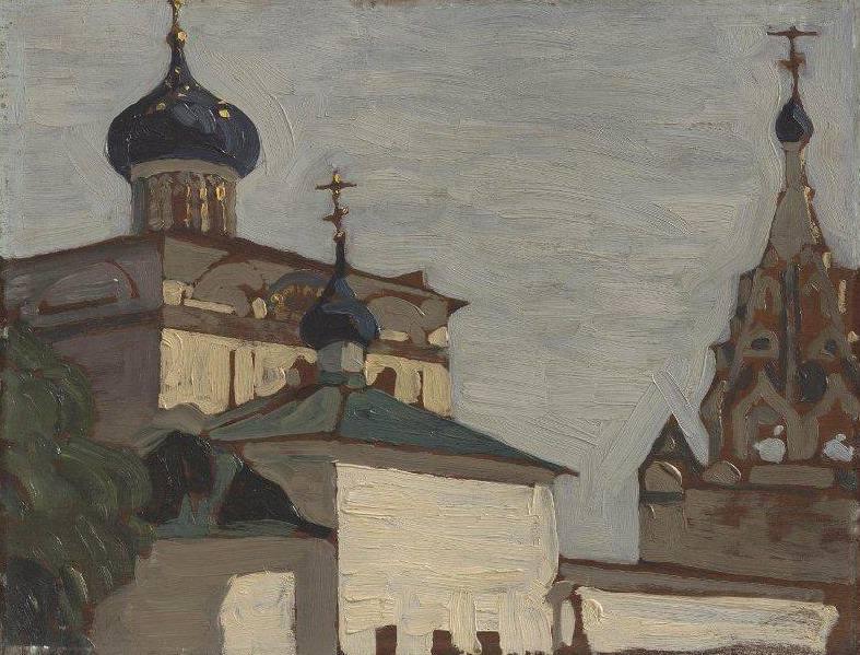 Yaroslavl. Church of the Nativity of the Virgin. Roerich N.K. (Part 1)