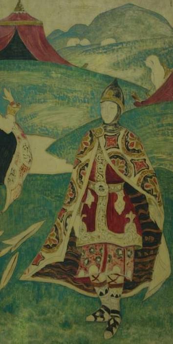 Russian soldier. Roerich N.K. (Part 1)