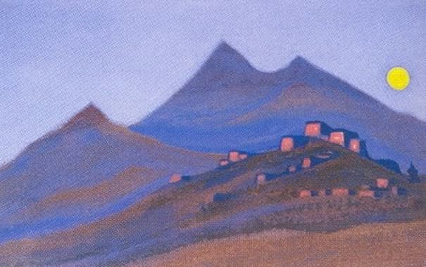 The Himalayas (Himalayan etude). Roerich N.K. (Part 1)