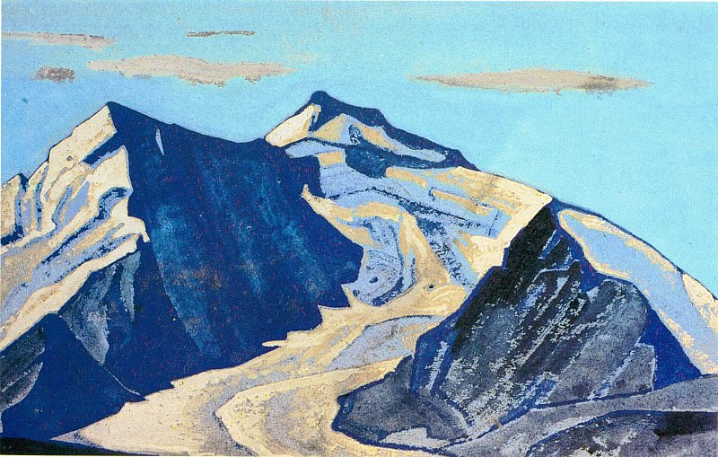 The Himalayas (Etude) (01). Roerich N.K. (Part 1)