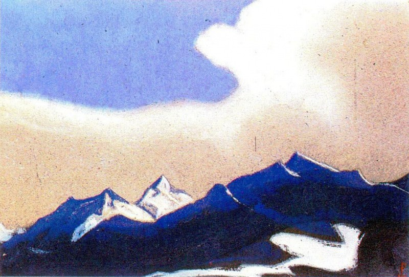 The Himalayas (Etude) (22). Roerich N.K. (Part 1)
