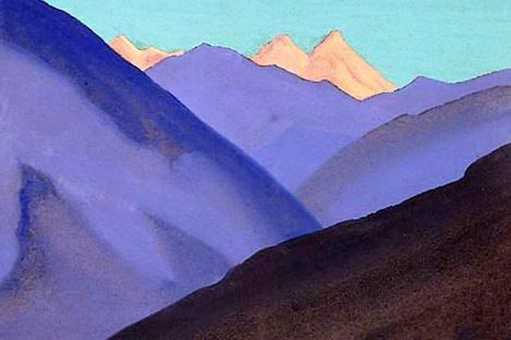 The Himalayas (Etude) (27). Roerich N.K. (Part 1)