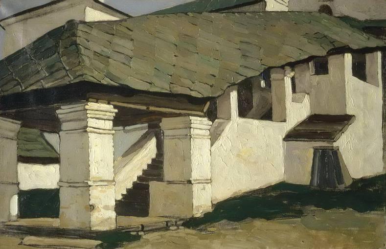 Smolensk. Porch convent (1). Roerich N.K. (Part 1)