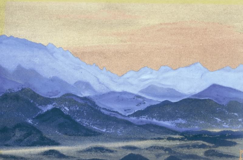 The Himalayas (189). Roerich N.K. (Part 1)