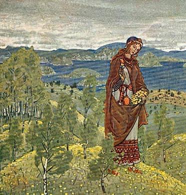 Unkrada (sketch). Roerich N.K. (Part 1)